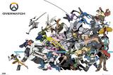 Overwatch -strid Affischer