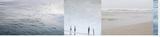 JuxtaShore 3 Bedruckte aufgespannte Leinwand von Florence Delva