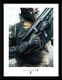 Destiny 2 - Warlock Reproduction encadrée pour collectionneurs