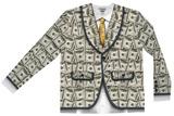 Money Suit Costume Tee Mangas longas