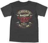 Aerosmith - Road Crew 2017 Tour Tshirts
