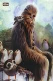 Star Wars - Episode VIII- The Last Jedi- Wookiee & Porg Pôsters