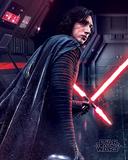 Star Wars: Episode VIII - Die letzten Jedi - Kylo Ren im Kampf Kunstdrucke