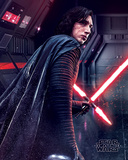 Star Wars: Episode VIII - The Last Jedi - Kylo Ren (ilsken) Affischer