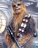 Star Wars: Episodi VIII – The Last Jedi – Chewbacca ja bowcaster-ase Juliste