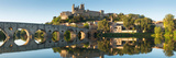 Languedoc Beziers Cathedral, France Tempered Glass Art Poster