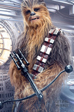 Star Wars: Episode VIII- The Last Jedi - Chewbacca Bowcaster Print