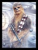Star Wars: The Last Jedi - Chewbacca Bowcaster Samletrykk