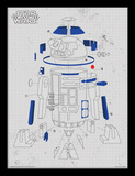 Star Wars: The Last Jedi - R2-D2 Exploded View Samletrykk