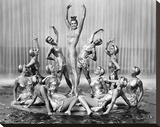 Esther Williams MGM 1952 'Million Dollar Mermaid' Stretched Canvas Print by  Hollywood Historic Photos