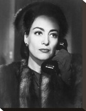 Joan Crawford 1945 'Mildred Pierce' Stretched Canvas Print by  Hollywood Historic Photos
