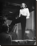 Marlene Dietrich 1940 Stretched Canvas Print by  Hollywood Historic Photos