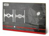 Star Wars: The Last Jedi - Tie Fighter Plans Treskilt
