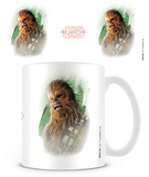 Star Wars: The Last Jedi - Chewacca Brushstroke Mug Taza