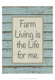 Farm Sentiment II Print by Alonzo Saunders