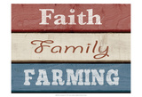 Farm Sentiment V Art by Alonzo Saunders