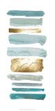 Gold Sea Strokes II Art by Grace Popp