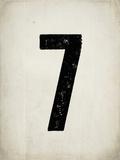"""Numero """"7"""" consumato Poster di Rebecca Peragine"""