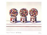 Three Machines (1963) Posters af Wayne Thiebaud