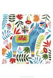 Festive Otomi I Prints by Grace Popp