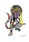Singe-Lion (Monkey-Lion) Serigrafie von Niki de Saint Phalle