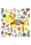 Festive Otomi III Art by Grace Popp
