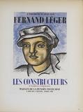 Les Constructeurs Impressão colecionável por Fernand Leger