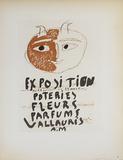 Poteries Fleurs Parfums Impressão colecionável por Pablo Picasso