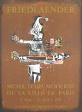 Musee D'art Moderne Impressão colecionável por Johnny Friedlaender