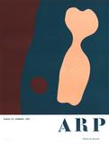 Torso and Navel Samlertryk af Jean Arp
