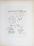 Exposition Hispano-Americaine III Impressão colecionável por Pablo Picasso