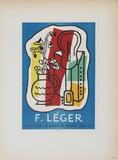 Galerie Louis Carre Impressão colecionável por Fernand Leger