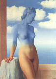 La Magie Noire (No border) Posters av Rene Magritte