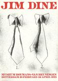 Two Ties Impressão colecionável por Jim Dine