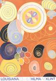 Abstract Peonies Plakat af Hilma af Klint