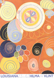 Abstract Peonies Poster von Hilma af Klint