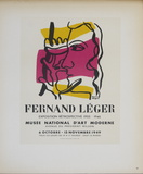 Musee National d'Art Moderne Impressão colecionável por Fernand Leger