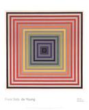 Letter on the Blind II Posters par Frank Stella