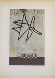 Galerie Maeght, 1956 Collectable Print by Georges Braque