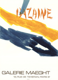 Galerie Maeght Posters por Jean Rene Bazaine