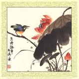 He Tang Qu Shi Posters van Songtao Gao