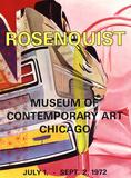 Museum of Contemporary Art Chicago Stampa da collezione di James Rosenquist