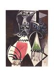 Buste d'Homme Impressão colecionável por Pablo Picasso