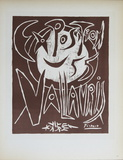 Exposition Vallauris III Impressão colecionável por Pablo Picasso