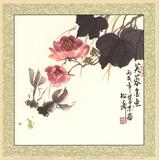 Fu Rong Jing Yu Schilderijen van Songtao Gao