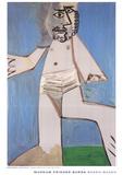 Homme Debout Posters por Pablo Picasso