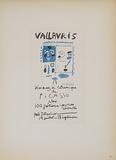 Vallauris 10 ans de ceramique Impressão colecionável por Pablo Picasso