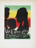 Vallauris Exposition Impressão colecionável por Pablo Picasso