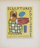 Sculptures Polychromes Galerie Louis Carre Impressão colecionável por Fernand Leger