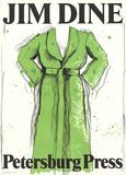 Green Robe Impressão colecionável por Jim Dine